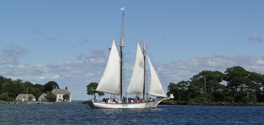 Camden Windjammer Day Sail