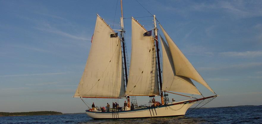 Camden Windjammer Sunset Sail